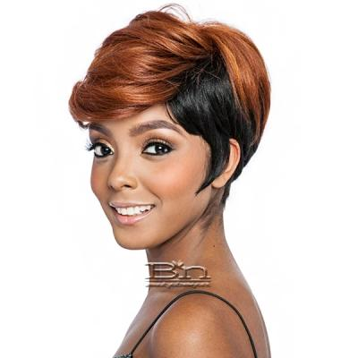 Isis Melanin Queen Human Hair Blend Wig - ML102