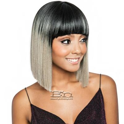 Isis Melanin Queen Human Hair Blend Wig - ML103