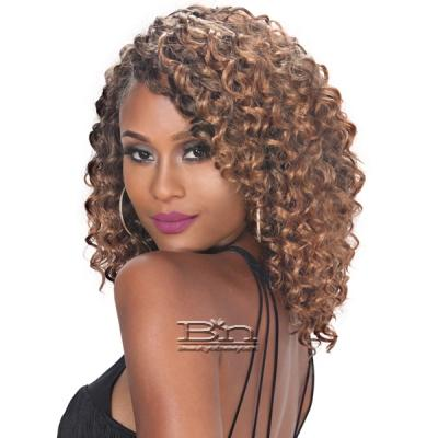 Zury Sis Synthetic Hair Weave - V-8-9-10 GOGO CURL (V-Shape Finish Style / One Pack Enough)