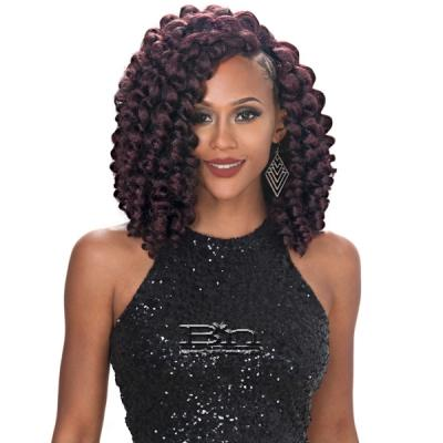 Zury Sis Synthetic Hair Weave - V-8-9-10 ROD SET (V-Shape Finish Style / One Pack Enough)