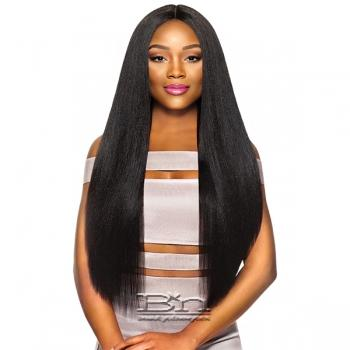 Outre Purple Pack Brazilian Boutique Human Hair Blend Weaving - VIRGIN VOLUME PRESSED 4PCS (18/20/22 + 4 inch lace closure)
