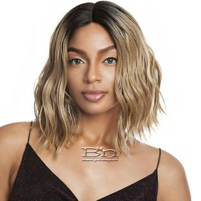 Isis Brown Sugar Human Hair Blend Full Wig - BS1605 (6 inch Deep Part)