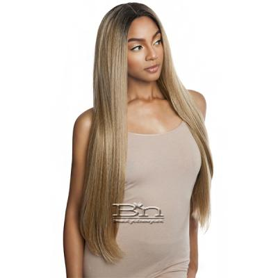 Isis Brown Sugar Human Blend Versatile Lace Wig BSX05 YAKY STRAIGHT 30