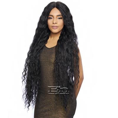 Harlem 125 Synthetic Hair Swiss Lace Wig - LSD93 (6 inch deep part, extra long 36 inch)