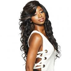 Outre Synthetic Swiss Lace Front Wig - ATHENA