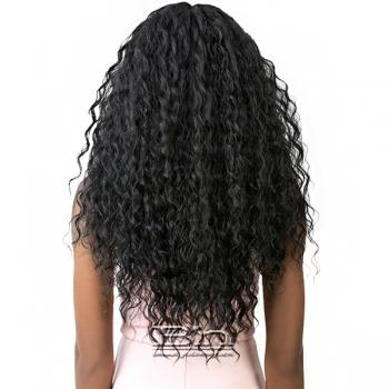 It's A Wig Human Hair Blend 4 Way Part Lace Wig VIXEN X NEO FRENCH WAVE