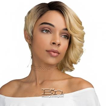 Janet Collection Human Hair Blend Brazilian Scent Wig - BUBBLE (pre-tweezed part)