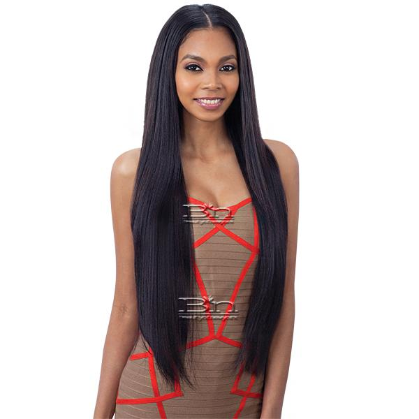 Model Model Synthetic Oval Part Wig - LONG LAYERED YAKY