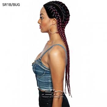 Isis Red Carpet Synthetic Ghana Braid Lace Wig - RCBG01 HERA 28