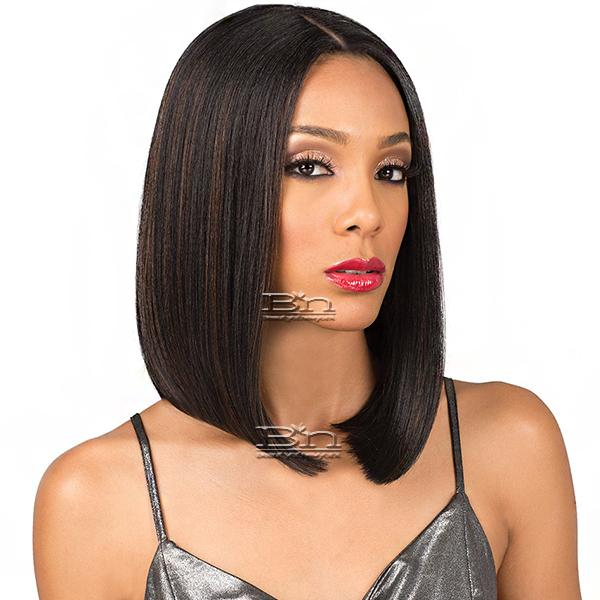 Bobbi Boss Synthetic 5 inch deep part Swiss Lace Front Wig - MLF198 ALLISON
