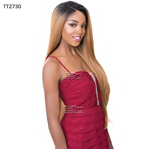 It's a Wig 100% Human Hair Blend 360 Circular Frontal Lace Wig - LACE BARBIE (360 all round deep lace wig)