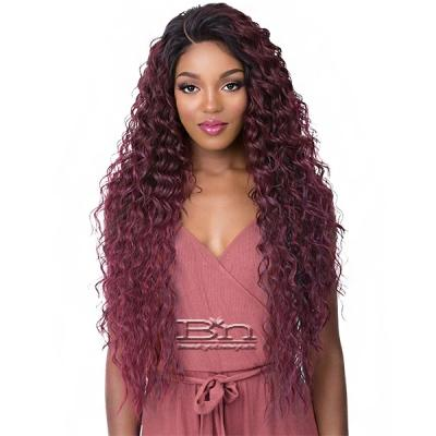 It's a Wig 100% Human Hair Blend 360 Circular Frontal Lace Wig - LACE TAMARA (360 all round deep lace wig)