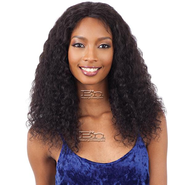 Naked 100% Brazilian Natural Hair Lace Front Wig - WET & WAVY DEEP CURL