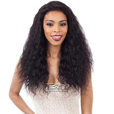 Naked 100% Brazilian WET & WAVY Natural Hair Lace Front Wig - LOOSE DEEP
