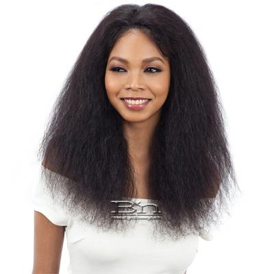 Model Model Nude Fresh Wet & Wavy 100% Brazilian Natural Human Hair Lace Front Wig - BOHEMIAN CURL