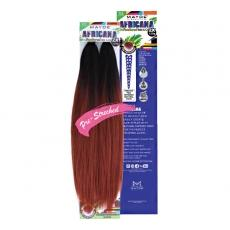 Mayde Beauty Synthetic 2X Africana Feathered Braid 24