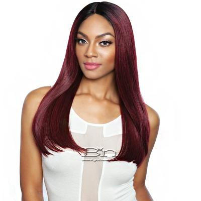 Isis Brown Sugar Flat & Lay Human Hair Blend Lace Front Wig - BSL206 ENCHINACEA (6 inch deep part)