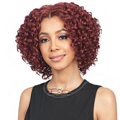 Bobbi Boss Synthetic Swiss Lace Front Wig - MLF313 SHORTCAKE (5 inch deep part)
