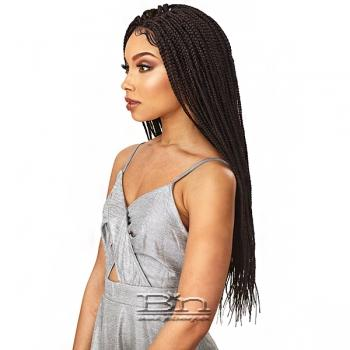 Sensationnel Cloud 9 Synthetic Hair 4x4 Multi Parting Swiss Lace Wig - BOX BRAID SMALL