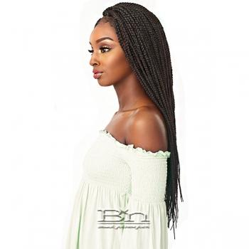 Sensationnel Cloud 9 Synthetic Hair 4x4 Multi Parting Swiss Lace Wig - BOX BRAID LARGE