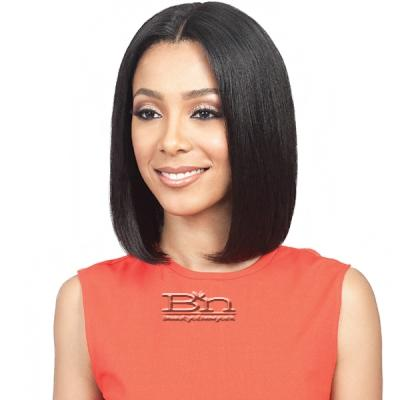 Bobbi Boss 100% Human Hair Sleek Bob Lace Front Wig - MHLF404 HH ANDREA (5 inch deep part)