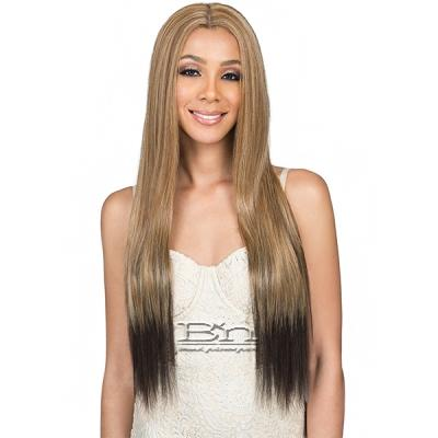 Bobbi Boss Human Hair Blend Swiss Lace Front Wig - MBLF30 LIA (4.5 inch deep part)