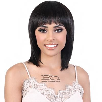 Motown Tress Natural & Blonde 100% Remy Human Hair Wig - HNB BELLA