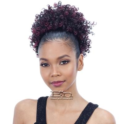 Model Model Pom Pom Synthetic Drawstring Ponytail - JAZZ POM