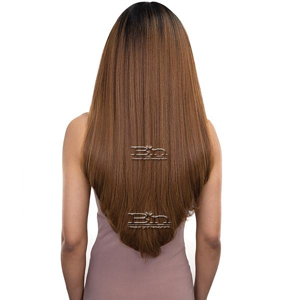 Janet Collection Synthetic Extended Deep Part Lace  Wig  - JUNE