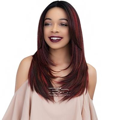 Janet Collection Synthetic Extended Part Lace Extremely Deep Part Lace Wig - KATE