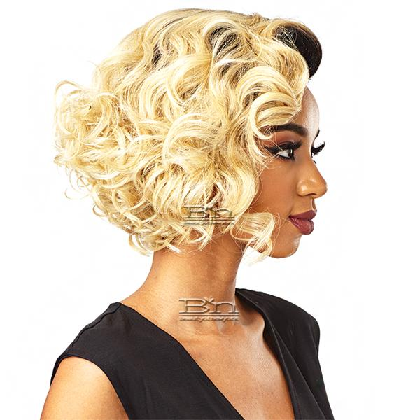Sensationnel Synthetic Hair Empress Natural Curved Part Lace Front Wig - TAMIKA