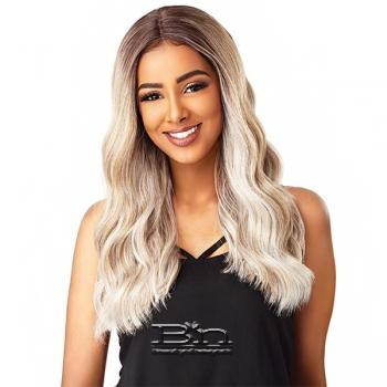 Sensationnel Synthetic Hair Empress Natural Center Part Lace Front Wig - BRIANNA