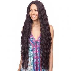 Bobbi Boss Synthetic Swiss Lace Front Wig - MLF357 INNIS (4 inch deep part)
