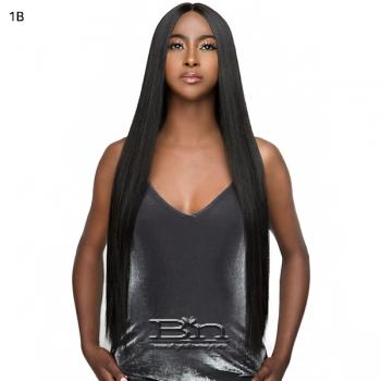 Wigo Collection Synthetic Natural Center Part Lace Front Wig - LACE LEAH