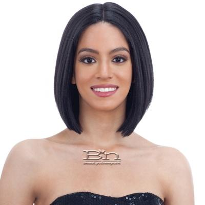 Model Model Synthetic Hair Lace Part Wig - EBONEE (5 inch deep lace center part)