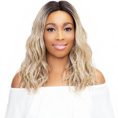 Janet Collection Synthetic Extended Part Lace Extremely Deep Part Lace Wig - LEONA