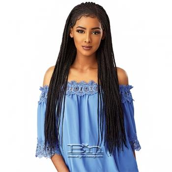 Sensationnel Cloud 9 Synthetic Hair 13x5 Lace Parting Swiss Lace Wig - SIDE PART CORNROW