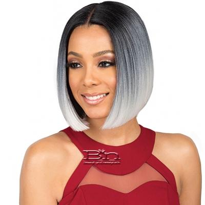 Bobbi Boss Synthetic 5 inch Deep Part Swiss Lace Front Wig - MLF309 TESSA