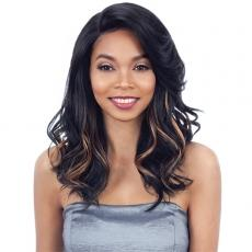 Model Model Synthetic Hair Over Bang Lace Part Wig - FLISS (5 inch deep lace side part)
