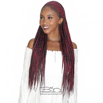 Zury Sis Diva Collection Synthetic Hair Lace Front Wig - DIVA LACE FULANI BOX 30