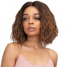 Janet Collection Synthetic Extended Deep Part Lace Wig - KELLY