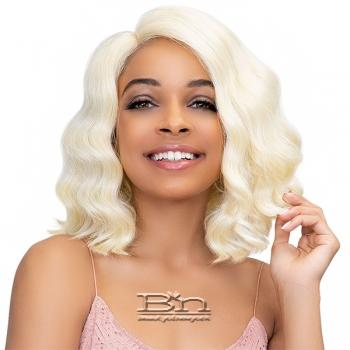 Janet Collection Synthetic Extended Deep Part Lace Wig - MILEY