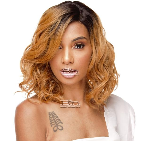 The Wig Brazilian Human Hair Blend Lace Front Wig - LH KISS