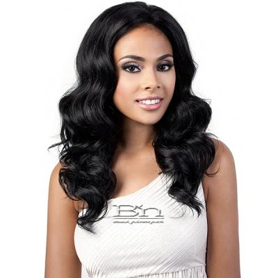 Motown Tress Let's Lace  Synthetic Hair 2 inch Deep Lace Front Wig - L YULIA