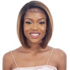 Model Model Synthetic Lace Front Wig - EDGES ON POINT 701