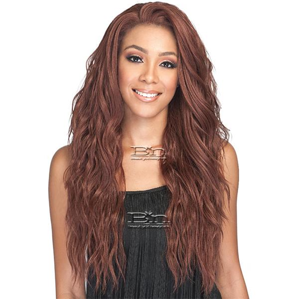 Bobbi Boss Human Hair Blend 360 Swiss Lace Wig - MBLF270 AMBRA