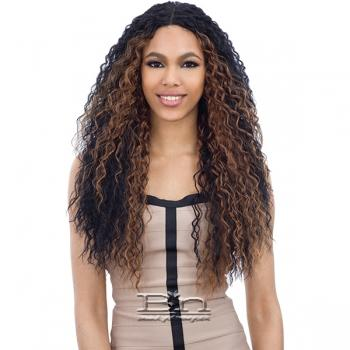 Freetress Equal Synthetic Hair Deep Invisible Part Lace Front Wig - KATE