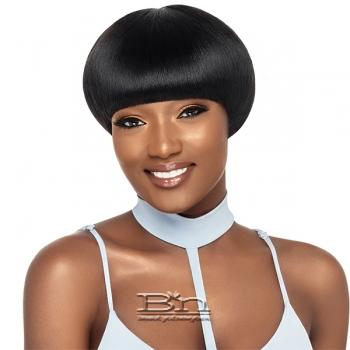 Outre 100% Human Hair Premium Duby Wig - BOWL FRINGE