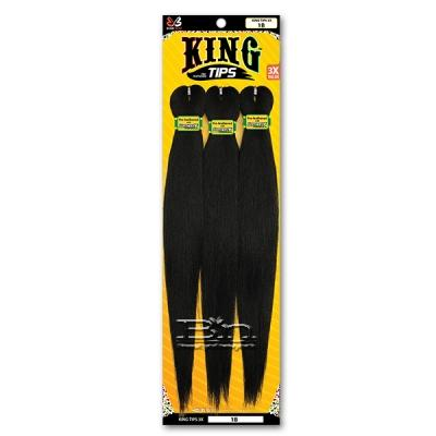 Bobbi Boss Synthetic Pre Feathered Braid - 3X KING TIPS