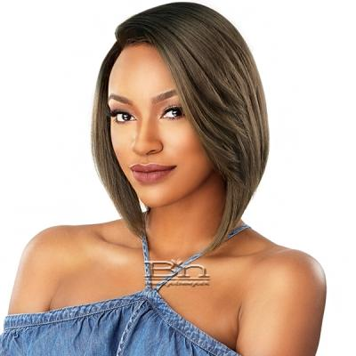 Sensationnel Synthetic Hair Empress Natural Curved Part Lace Front Wig - EYANA